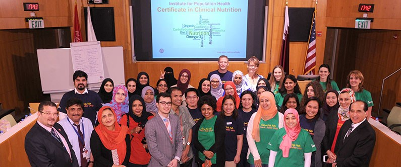 WCM-Q nutrition course gaining momentum